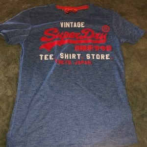 Superdry new shirt blue size s